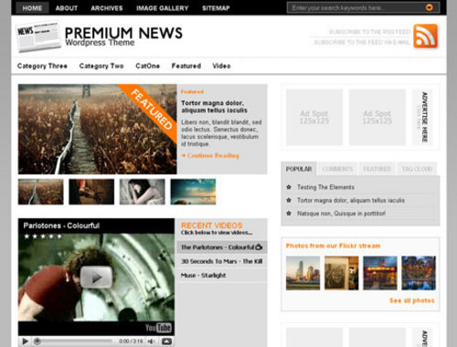 Product picture NewsPress Themes For News